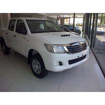 Nueva Toyota Hilux 4x2 C/s 2.4 Tdi Dx Financiado Y Cuotas