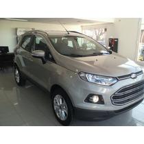 Ford Ecosport $50.000 Y Cuotas Plan Nacional 2015!!