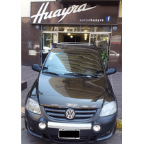 Volkswagen Crossfox 1.6 Trendline Cuero 2007 Marron