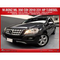Mercdes Benz Ml 350 Cdi 231 Hp T.diesel