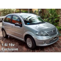 Citroen C3 1.6i 16v Exclusive (full). Particular.