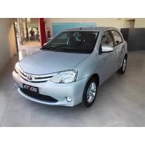 Toyota Etios Platinum 5 Ptas 1.5 Lt Financiacion Y Cuotas