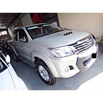 Toyota Hilux Srv 4x2 3.0 Tdi Linea 2014! Igual A 0km!
