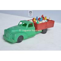 Camion Soda Baltasar Plastico Juguete Antiguo Dec 50 Sodero