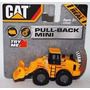 Cat Pull Back Mini Vehículos A Fricción Original Caterpillar
