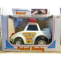 Auto Policia, Patrol Shaky,con Luz/sonido,a Pilas,nuevo