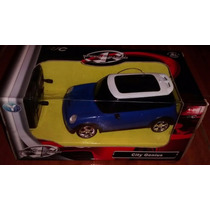 Auto Mini Couper Escala 1:22 A Radio Control Con Luces