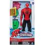 Spiderman Con Equipo De Ataque Titan Hero Series Hasbro