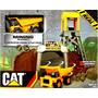 Cat Minning Playset Escenario De Extraccion Original Intek