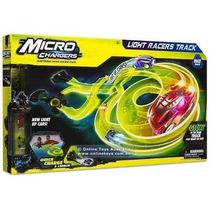 Micro Chargers Pista De Carreras De Luz C/ Lanzador Multiple
