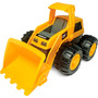 Camion Tractor Cat Caterpillar Con Movimiento 35x22cm Intek