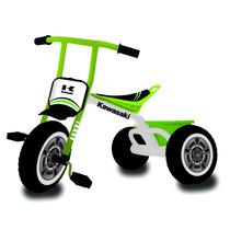 Triciclo Max Niños Nene Kawasaki +20kg