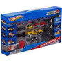Hot Wheels Custom Motors 4 En 1 - 35 Piezas