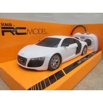 Audi R8 V10 Radiocontrol Escala 1:24 Welly Con Luces