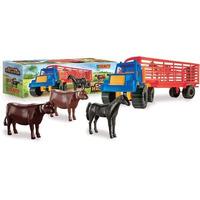 Camion Semi +animales Hacienda Duravit / Open-toys32