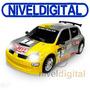 Auto Renault Clio Rally Radio Control Luces Y Sonidos