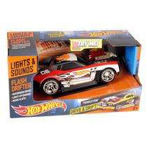 Hot Wheels Auto Drive & Drift Con Luces Y Sonido Intek