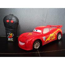 Cars Rayo Mcqueen Auto Con Radio Control Remoto