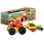 Tractor Chico Con Arado 652 Duravit Juegos Infantiles Camion