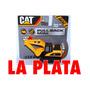 Cat Retro Excavadora Pala Infantil De Juguete Pull Back Mini