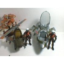 The Corps-helicoptero-avion-personajes-envios