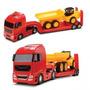 Camion Con Plataforma Y Camion Volcador Marca Roma