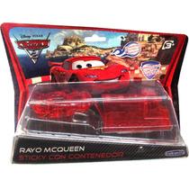 Cars 2: Rayo Mc Queen Sticky C/contenedor -minijuegosnet