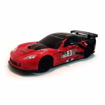 Auto Carrera R/control Remoto Corvette C6r 1:24 4 Funciones