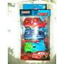 Autitos - Autos Cars Disney Pixar A Fricción- Caja X3