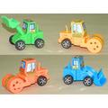 Set 4 Tractores Viales Retractiles Material Didáctico Jardin