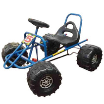 Karting Infantil A Pedal Mini Auto Estructura Reforzada