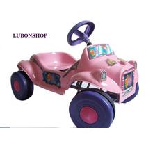 Auto A Pedal Rosa Modelo Nenas