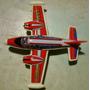 Antiguo Avioncito De Plastico Y Lata