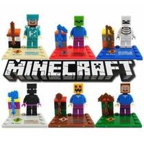 Minifiguras Minecraft Colecciòn Completa.precio Es Por Todos