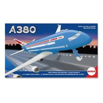 Avion A380 A Friccion Antex Con Luces Y Sonidos Original Tv