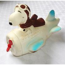 Monijor62- Juguetes Snoopy En Avion El Grande Y Con Chifle