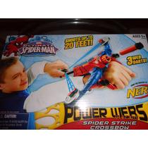Avión Lanzador De Dardos!!! Spider- Man!!!! Ultimos!!!
