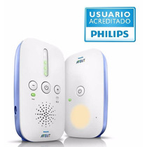 Avent Philips Baby Call Scd501/00 300 Metros Luz Nocturna