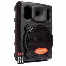 Bafle Parlante Winco 25cm Usb Sd Potencia 500w Karaoke Mic!!