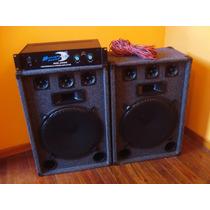 2 Parlantes / Bafles 15 Pulg 300w (equipo De Audio)