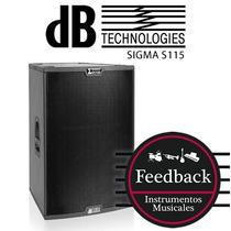 Parlante Potenciado Db Technologies Sigma S115 (tipo Rcf Hd)
