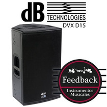 Db Technologies Dvx D15 - Bafle Activo 500w+250w Rms Digipro
