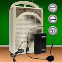 Bafle Potenciado Gbr Bateria.recargable- Micro Inalambri Usb