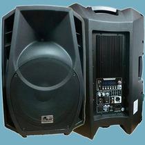 Gbr Pl 1500 Power Usb Bafle Activo Potenciado Parlante 15