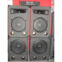 Combo Profesional De Sonido 4bafles1200w+potencia700woferta!