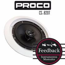 Proco Cs-820t - Parlante Para Techo Con Transformador