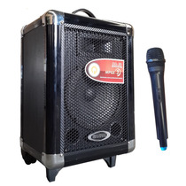 Bafle Potenciado Bateria Recargable Usb+sd+mic. Inalambrico