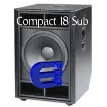 Sub Low Das 18 Pulgadas - Compact 118 - Bajo Grave