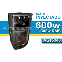 Bafle Inyectado Audiosonic As15340 15 Pulgadas 300 Rms 600w
