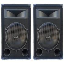 Bafle Pro 500w Woofer 15 Bocina C/ Driver Titanio 1.75 C J F